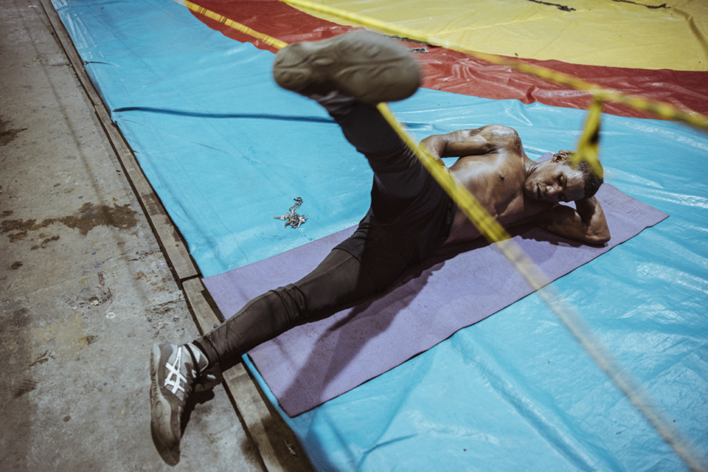 CARLES CARABÍ Boxeo Panamá